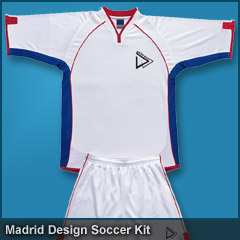 Madrid Design Soccer Kit