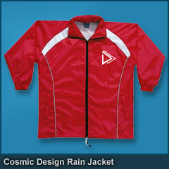 Cosmic Design Rain Jacket