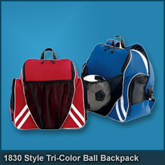 1830 Style Tri-Color Ball Backpack