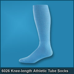 6026 Knee-length Athletic Tube Socks