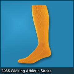 6085 Wicking Athletic Socks